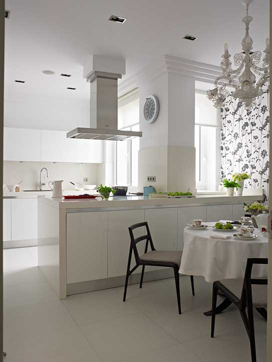 Reforma completa de cocina vivienda en la Gran Vía de Bilbao
