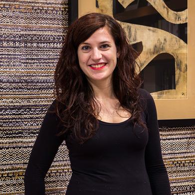 Lide Romero, arquitecta técnica y diseñadora de interiores en Bilbao