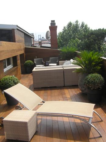 Reforma de terraza en zugazarte Vizcaya