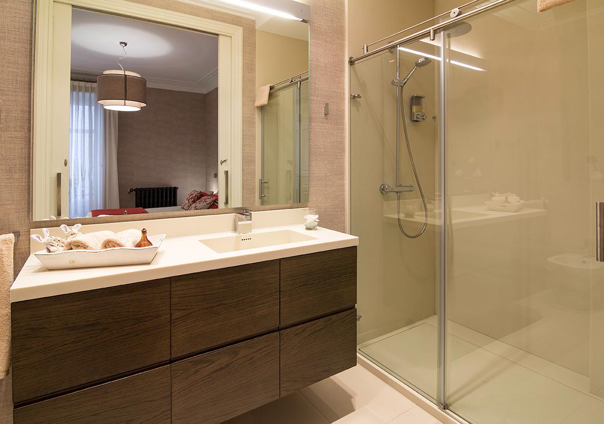 Decoración de cuarto de baño en Bilbao
