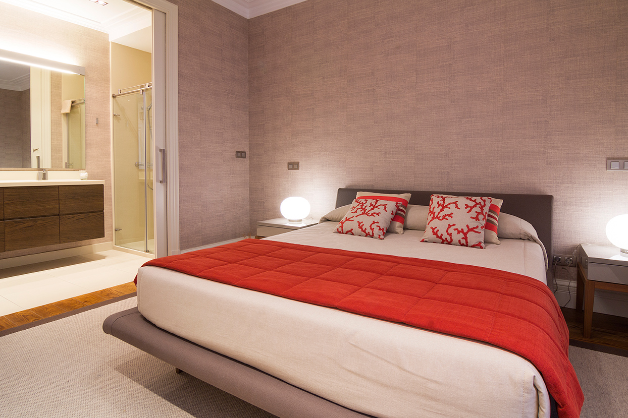 Decoración de dormitorio en Bilbao