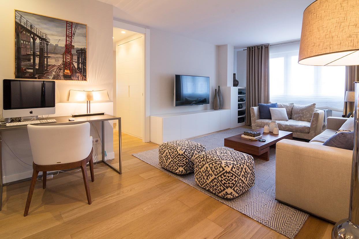 Reforma salón de casa en Bizkaia