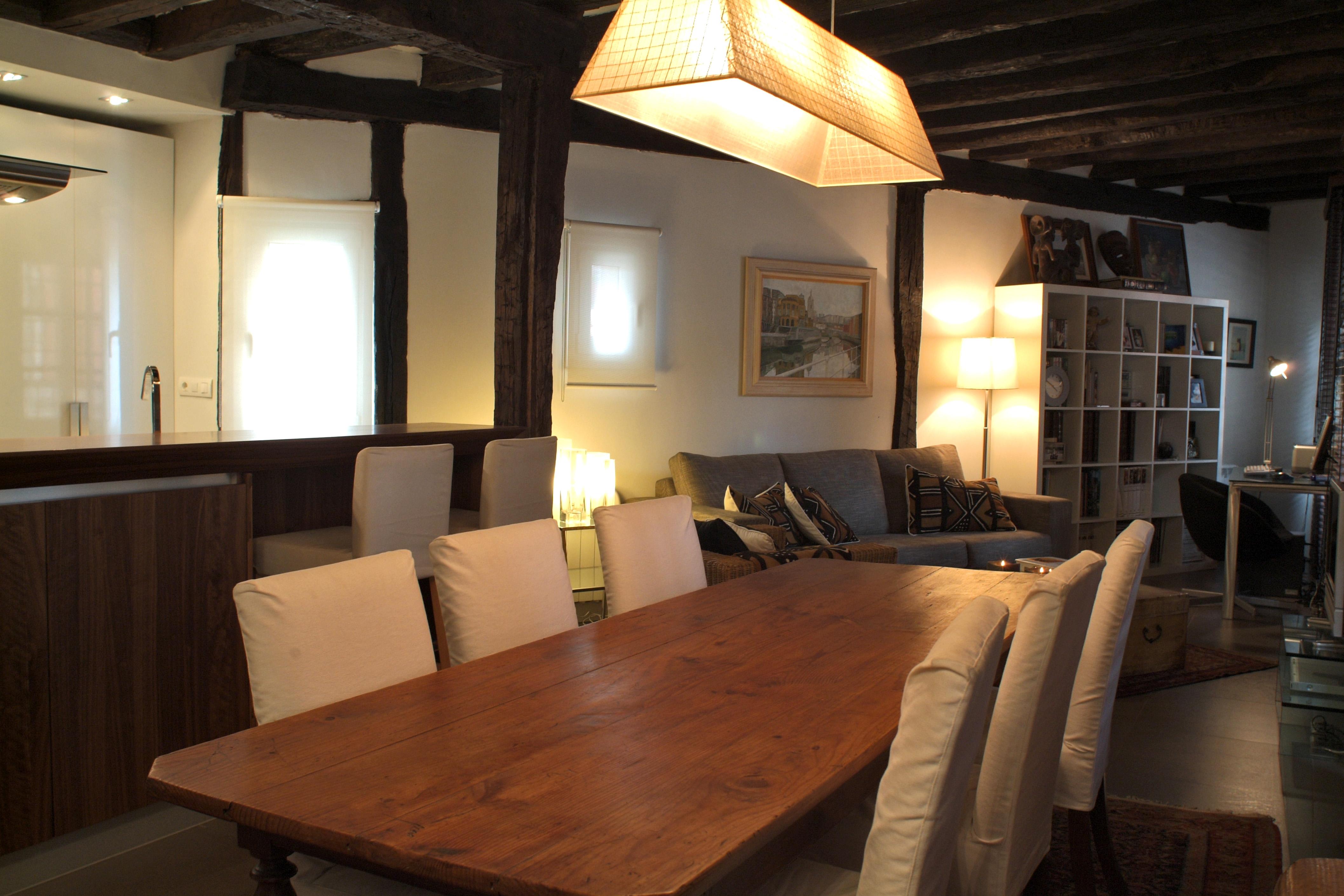 Reforma integral de salon en Bilbao realizado por Tribeca