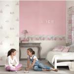 Tribeca Bilbao papel pintado habitación infantil casadeco cabecera