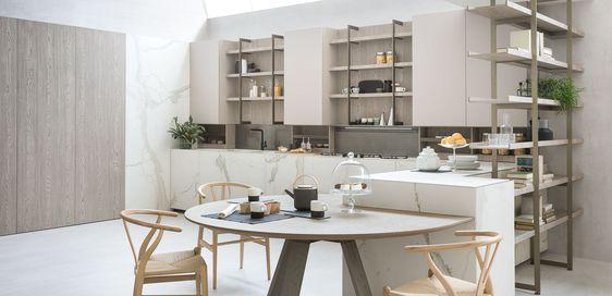 Tribeca Bilbao Cocinas italianas: diseño exclusivo