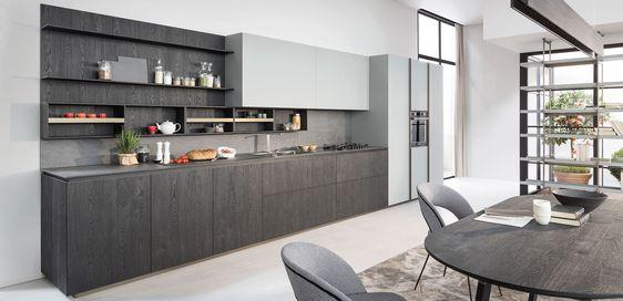 tribeca bilbao cocinas italianas: diseño único - Tribeca | Proyectos ...