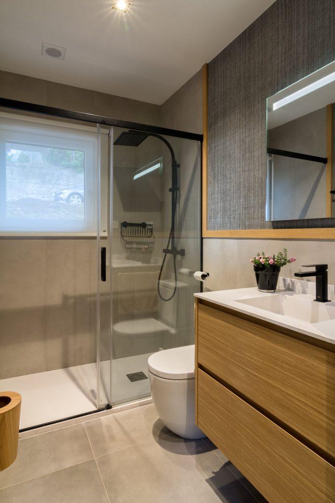Reforma baño pequeño Bilbao