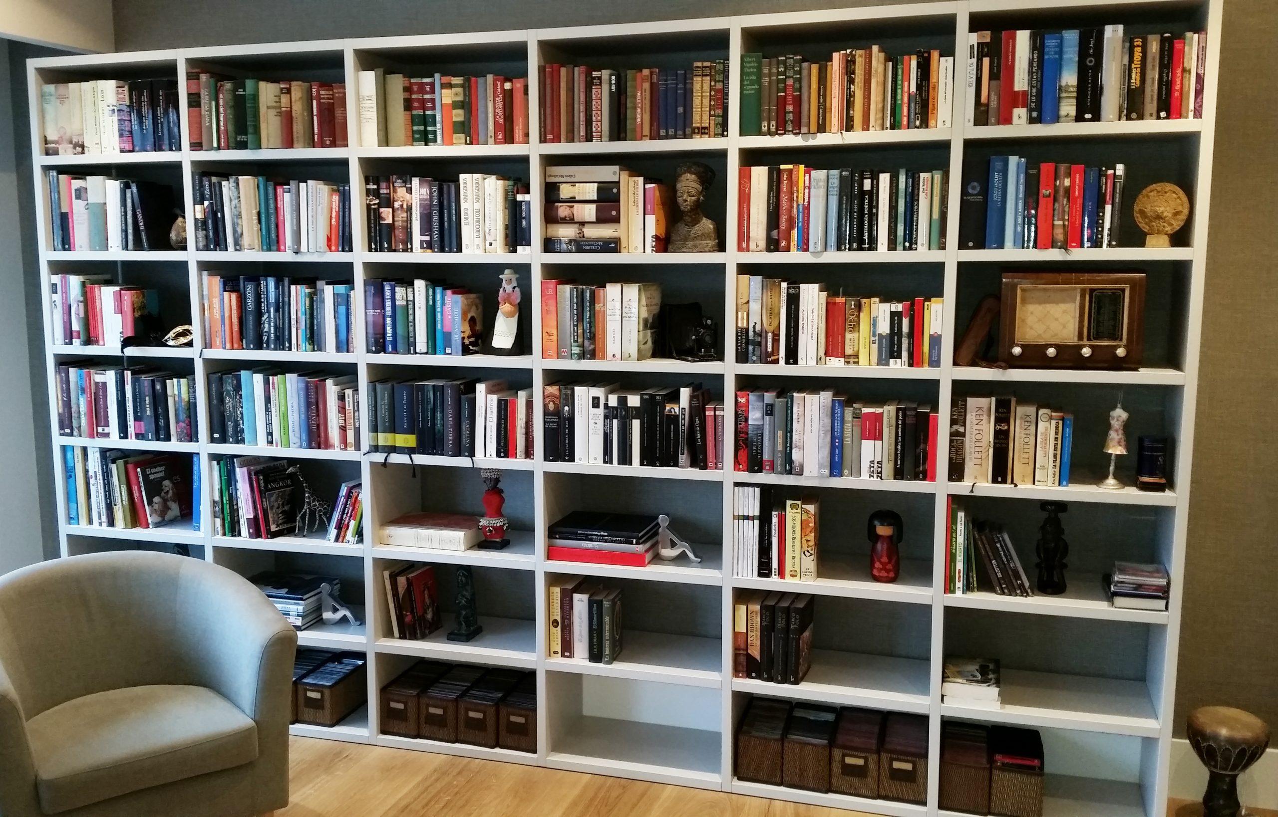 Librería modular Dall Agnese, marca en exclusiva de Tribeca en Bilbao.